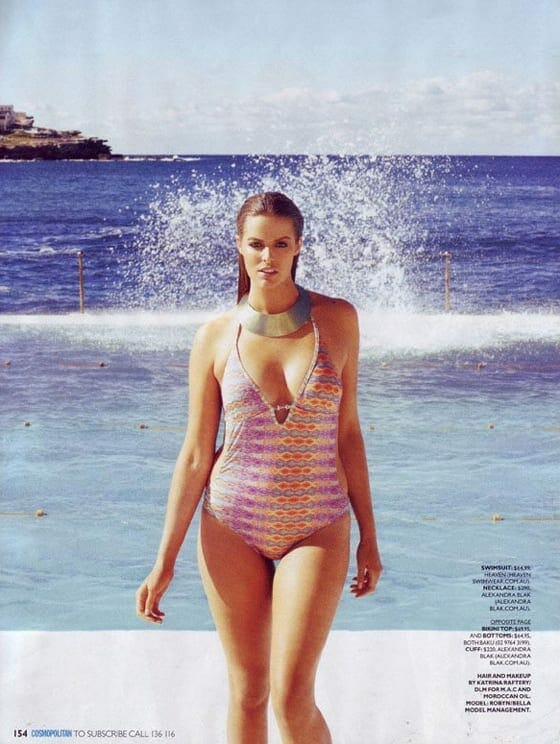 Robyn Lawley in Cosmo Again!